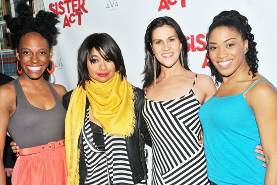 Raven-Symoné Opening Night in Sister Act – Kimberly Marable - Raven-Symoné – Alena Watters – Rashidra Scott