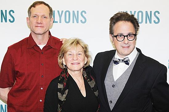 The Lyons Meet and Greet – Mark Brokaw – Kathleen K. Johnson – Nicky Silver