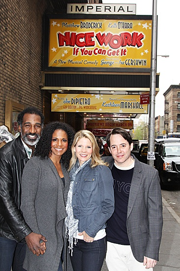 Nice Work If You Can Get It – Norm and Audra Visit – Norm Lewis – Audra McDonald – Kelli O'Hara – Matthew Broderick