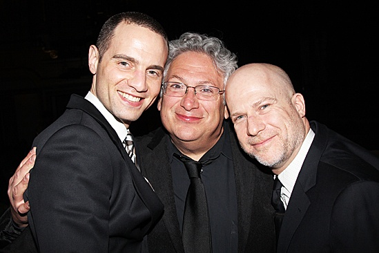 Newsies – Opening Night – Jordan Roth – Harvey Fierstein - Richie Jackson