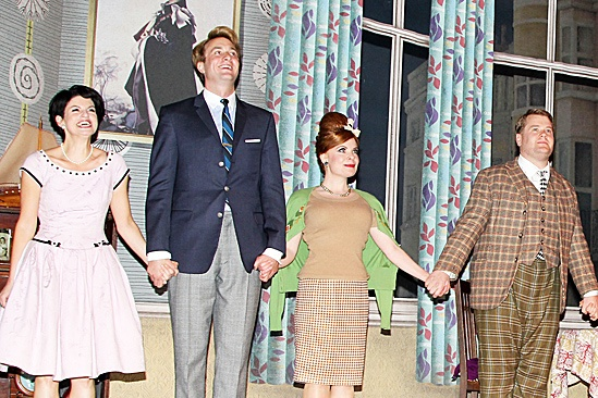 One Man, Two Guvnors opening night – Jemima Rooper – Oliver Chris – Suzie Toase – James Corden
