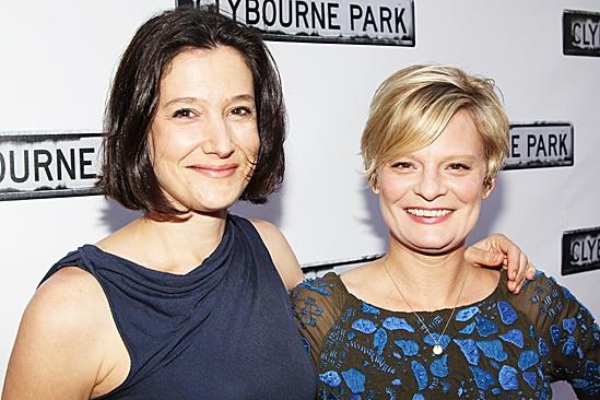 Clybourne Park Opening Night – Bianca Amato – Martha Plimpton