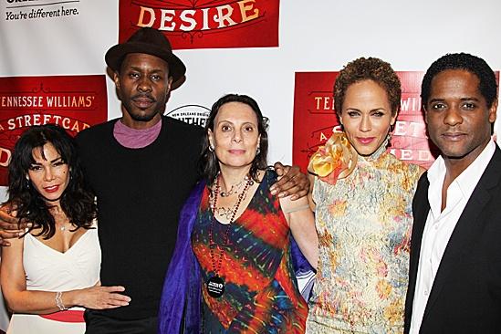 A Streetcar Named Desire opening night – Daphne Rubin-Vega – Wood Harris – Emily Mann – Nicole Ari Parker – Blair Underwood