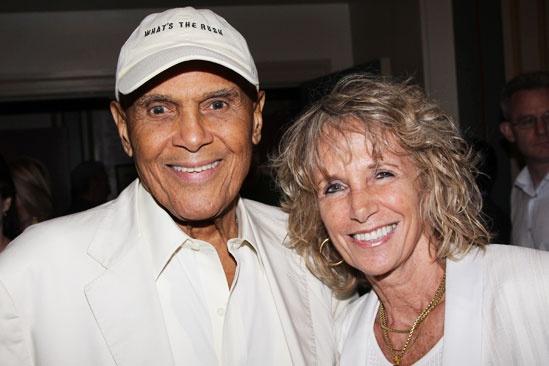 Old Jews Opening Night – Harry Belafonte – wife Julie Robinson