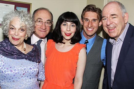 Old Jews Opening Night – Marilyn Sokol – Todd Susman - Audrey Lynn Weston - Bill Army - Lenny Wolpe