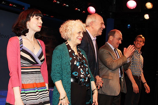 Old Jews Opening Night – Audrey Lynn Weston - Marilyn Sokol - Lenny Wolpe -Todd Susman - Bill Army
