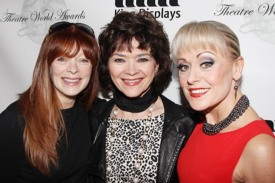 Theatre World Awards- Frances Fisher- Linda Hart- Tracie Bennett