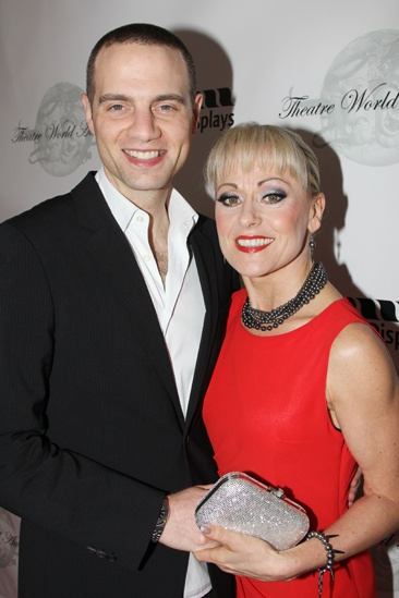 Theatre World Awards- Jordan Roth- Tracie Bennett