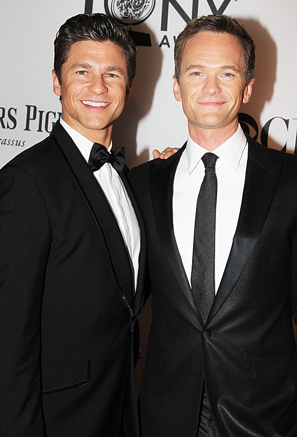 2012 Tony Award Best Pairs- David Burtka – Neil Patrick Harris