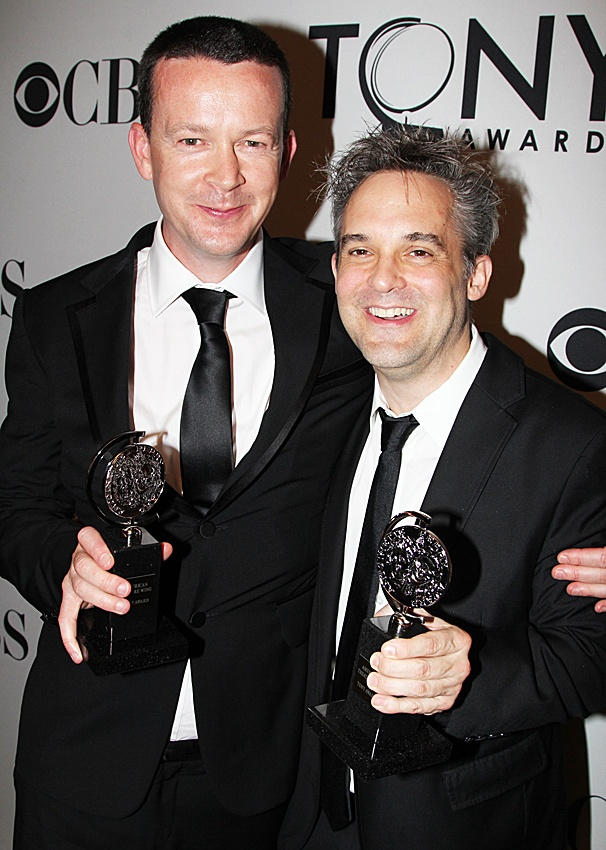 2012 Tony Awards Winner's Circle – Enda Walsh - Martin Lowe