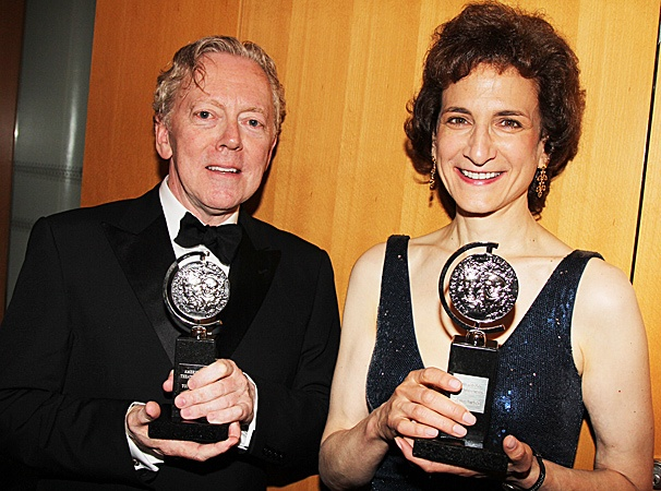 2012 Tony Awards Winner's Circle – 2012 Tony Awards Winner's Circle – Bob Crowley– Natasha Katz