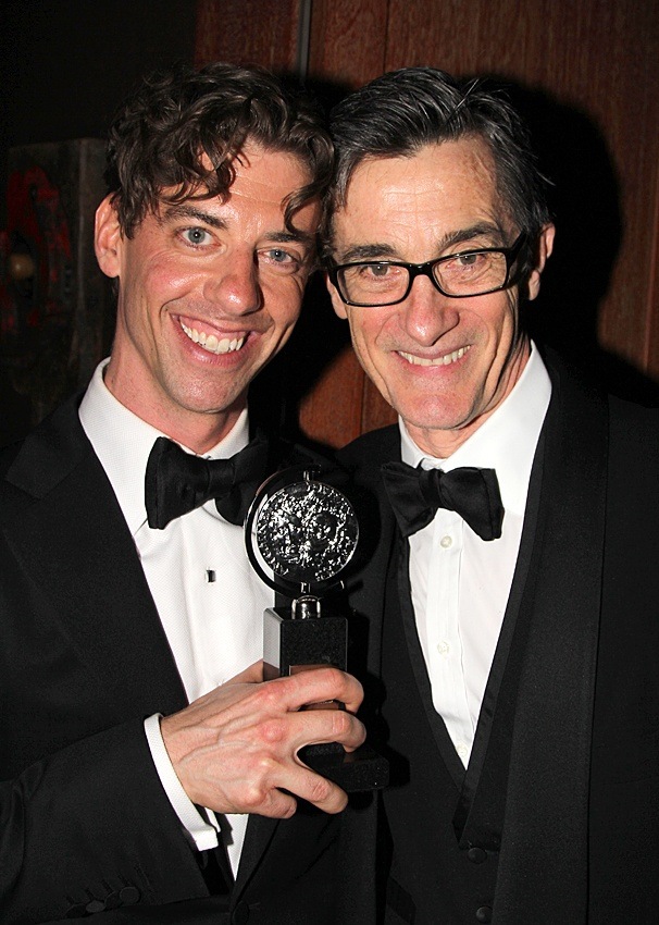 2012 Tony Awards – O&M After Party – Christian Borle – Roger Rees
