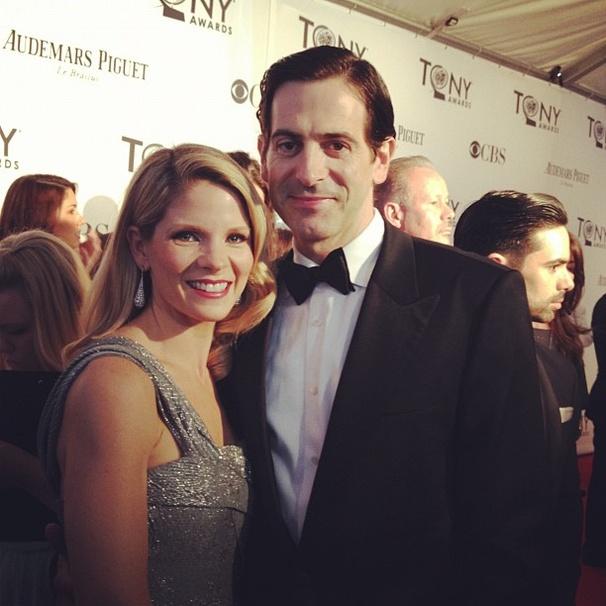 2012 Tony Awards Instagram Snapshots – Kelli O'Hara – Greg Naughton