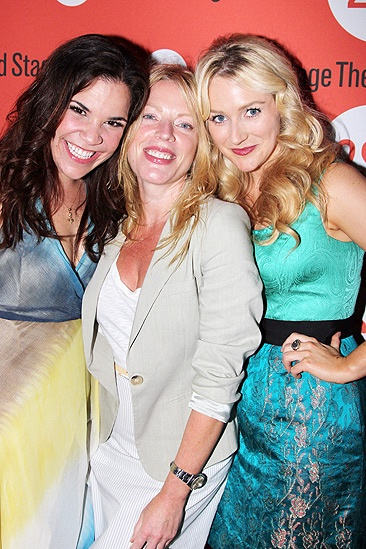 Dogfight Opening Night – Lindsay Mendez – Sherie Rene Scott – Betsy Wolfe