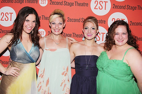 Dogfight Opening Night – Lindsay Mendez – Becca Ayers – Annaleigh Ashford – Dierdre Friel