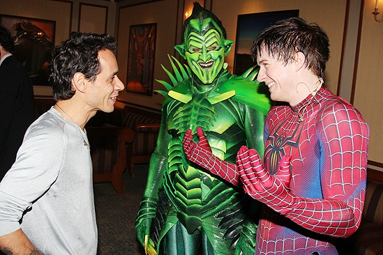 Spider-Man Turn Off The Dark – Marc Anthony Visit – Marc Anthony – Robert Cuccioli – Matthew James Thomas
