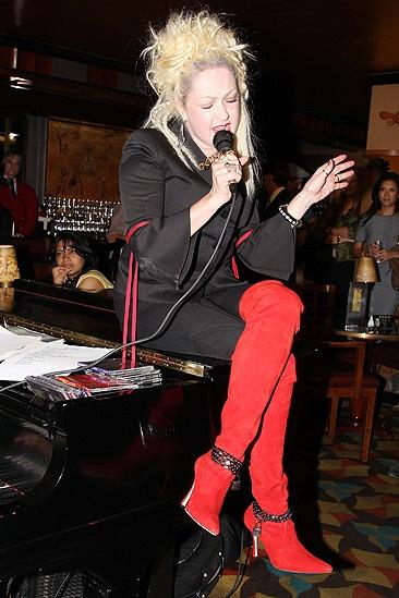 Kinky Boots- Fashion's Night Out- Cyndi Lauper