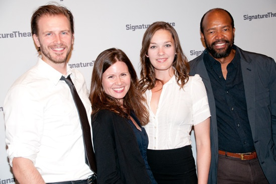 The Train Driver – Opening Night – Bill Heck – Maggie Lacey – Virginia Kull – Leon Addison Brown