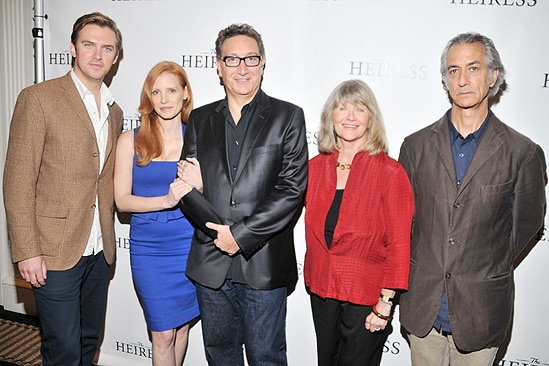 The Heiress – Meet and Greet – Dan Stevens – Jessica Chastain – Moises Kaufman – Judith Ivey – Davis Strathairn