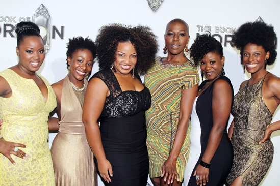 'Book of Mormon' LA Opening—Talitha Farrow; Carole Denise Jones; Marisha Wallace; Laiona Michelle; Phyre Hawkins; Kimberly Marable