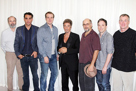 Glengarry Glen Ross- Daniel Sullivan- Bobby Cannavale- David Harbour- Al Pacino- Richard Schiff-Jeremy Shamos- John C. McGinley