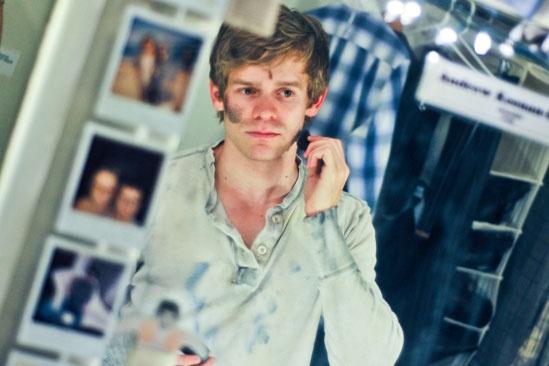 Newsies –Backstage- Andrew Keenan-Bolger