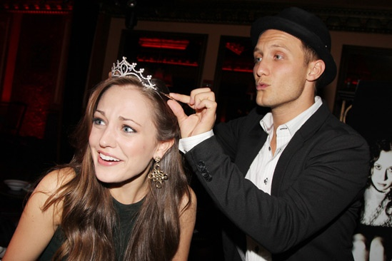 Carrie- Listening Party- Laura Osnes- Nathan Johnson