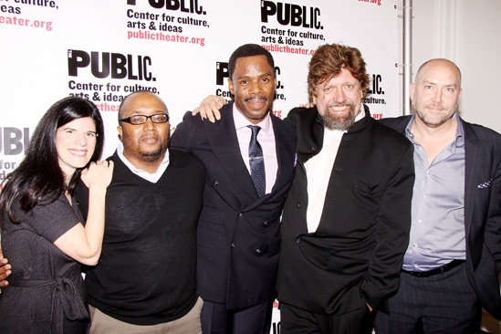 'Wild With Happy' Opening Night — Mandy Hackett — Robert O'Hara — Colman Domingo — Oskar Eustis — Patrick Willingham