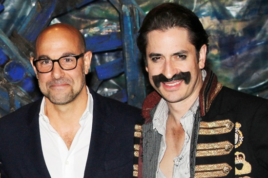 Stanley Tucci at Peter and the Starcatcher - Stanley Tucci - Matthew Saldivar