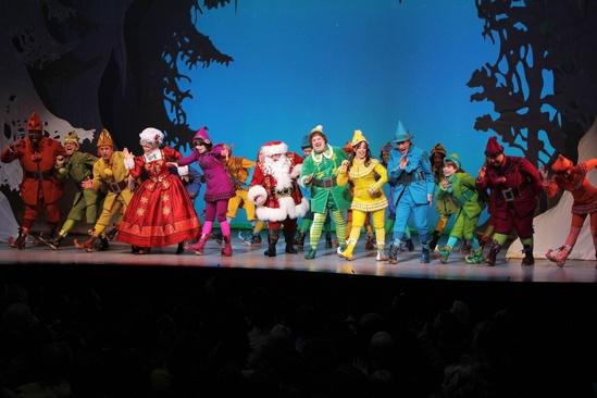 Elf – Curtain Call – Nov 9 – Full Company