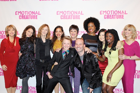 Emotional Creature - opening - Pat Mitchell - Molly Carden - Jo Bonney - Sade Namei - - Emily Grosland - Eve Ensler - Ashley Bryant - Olivia Oguma - Joaquina Kalukango - Carole Black