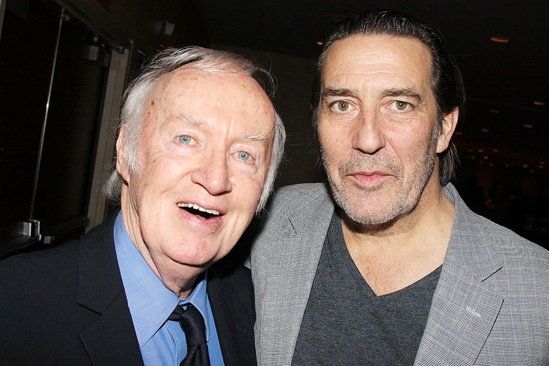 'Mystery of Edwin Drood' Opening Night — Jim Norton — Ciarin Hinds