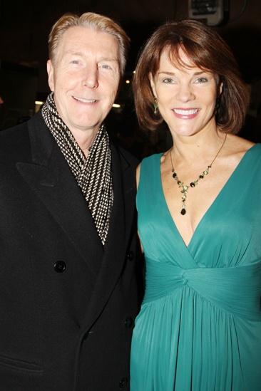 'Mystery of Edwin Drood' Opening Night — Byron Jennings — Carolyn McCormick