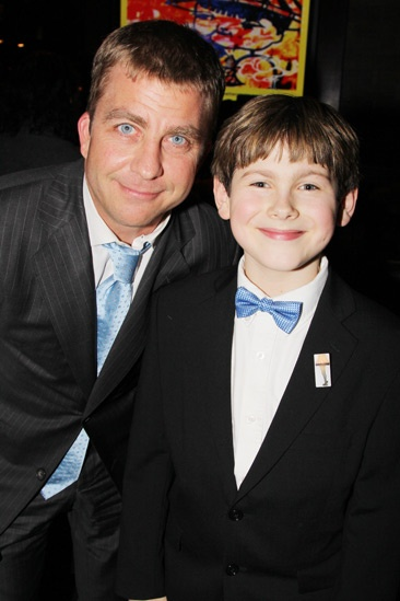 'A Christmas Story' Opening Night — Peter Billingsley — Johnny Rabe