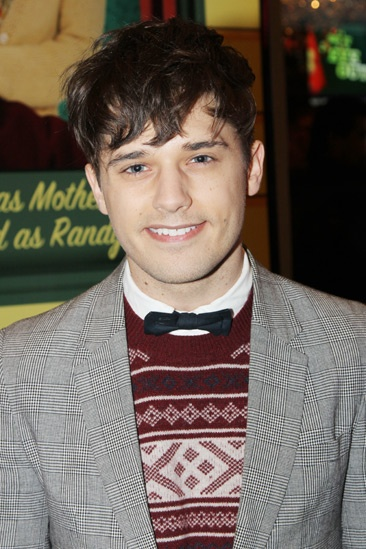 'A Christmas Story' Opening Night — Andy Mientus