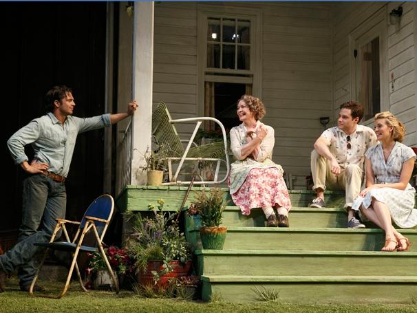 Show Photos - Picnic - Sebastian Stan, Ellen Burstyn, Ben Rappaport and Maggie Grace