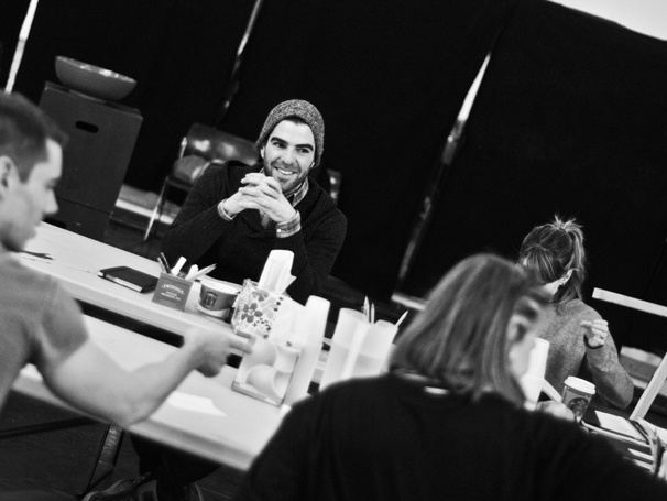 'The Glass Menagerie' Rehearsal — Zachary Quinto