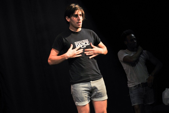 Hit the Wall Rehearsal- Arturo Soria
