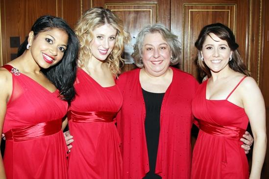 Drama League Gala for Audra 2013 – Rebecca Naomi Jones – Caissie Levy – Jayne Houdyshell – Alli Mauzey