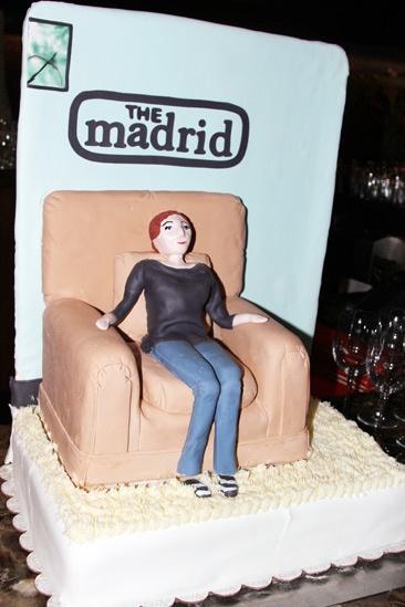 The Madrid – Opening Night – Cake