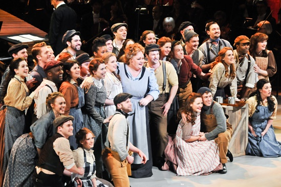 'Carousel' at Lincoln Center — Jessie Mueller — Stephanie Blythe