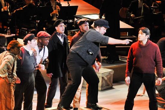 'Carousel' at Lincoln Center — Shuler Hensley — Nathan Gunn