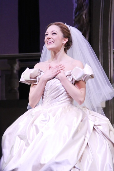 Laura Osnes Wedding