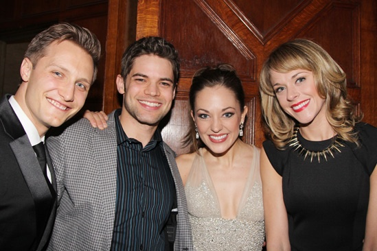 Cinderella-    Nathan Johnson- Jeremy Jordan- Laura Osnes- Ashley Spencer