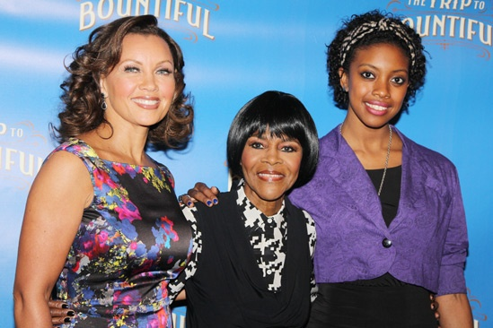 The Trip to Bountiful – Meet and Greet – Vanessa Williams – Cicely Tyson – Condola Rashad