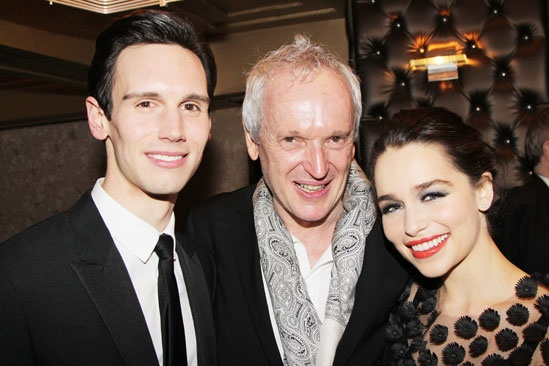 'Breakfast at Tiffany's' Opening — Cory Michael Smith — Sean Mathias — Emilia Clarke