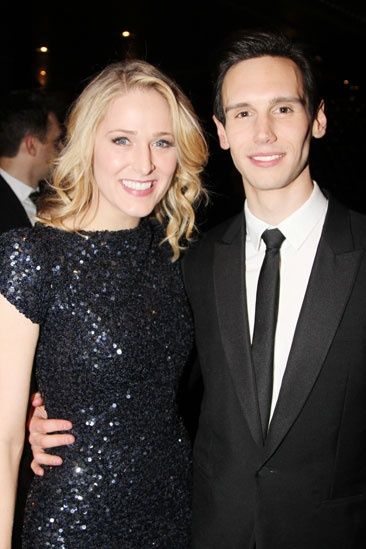 'Breakfast at Tiffany's' Opening — Kate Cullen Roberts — Cory Michael Smith