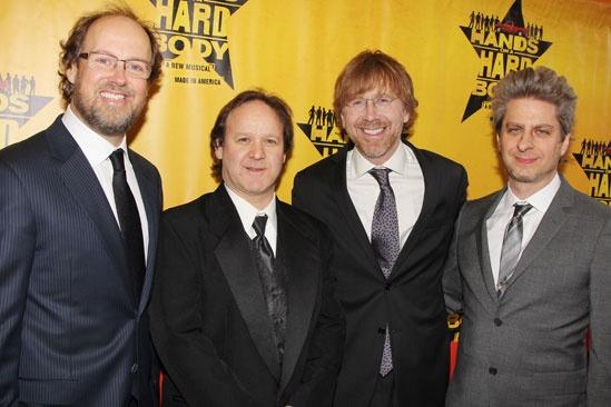 Hands on a Hardbody – Opening Night – Page McConnell - Jon Fishman – Trey Anastasio – Mike Gordon