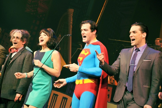 Superman-  David Pittu- Jenny Powers- Edward Watts- Will Swenson