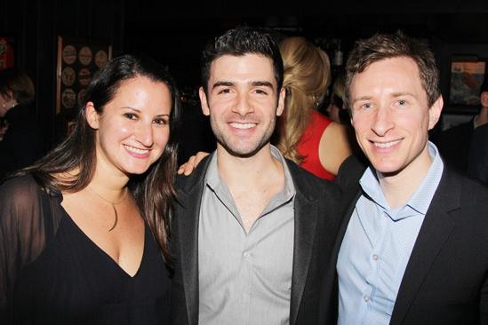 The Last Five Years – Opening Night – Jen Namoff - Adam Kantor – Craig Burns